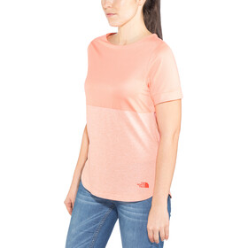 The North Face Inlux S/S Top Dame desert flower orange heather